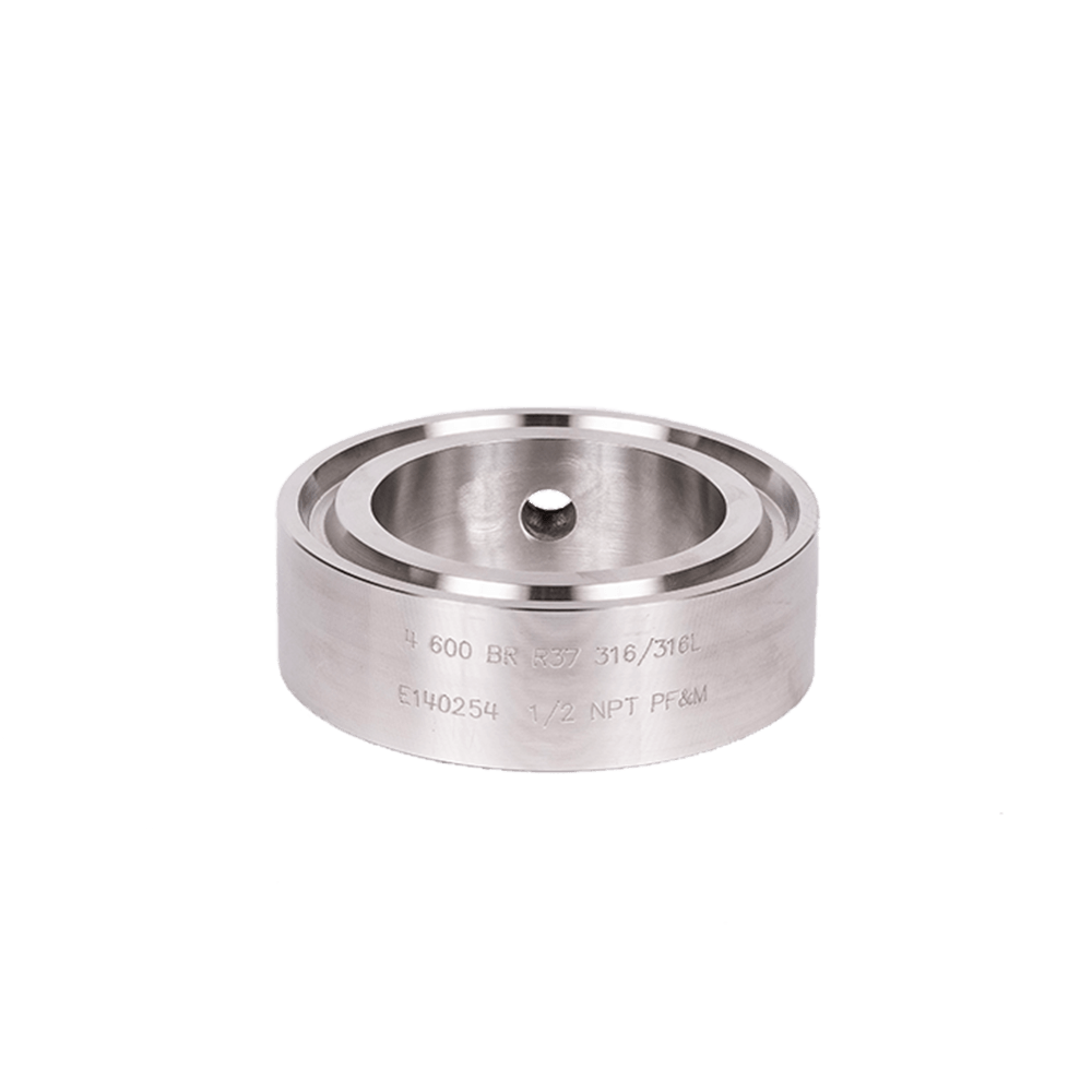 Bleed Ring RTJ Threaded Stainless 02